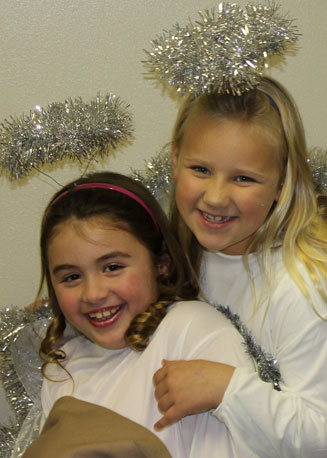 Christmas Pageant: christmas pageant angels