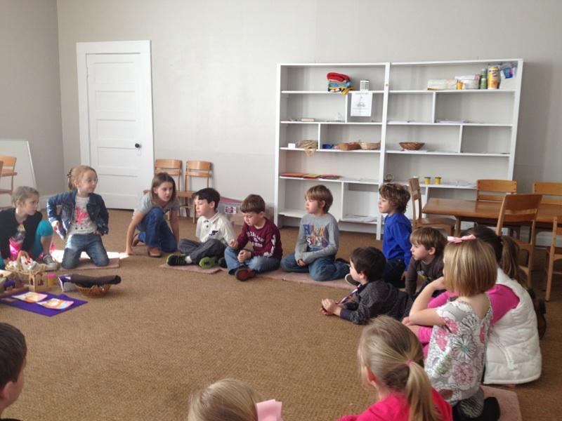 Listening to the Worship and Wonder lesson