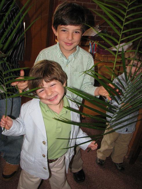 Palm Sunday: palm sunday