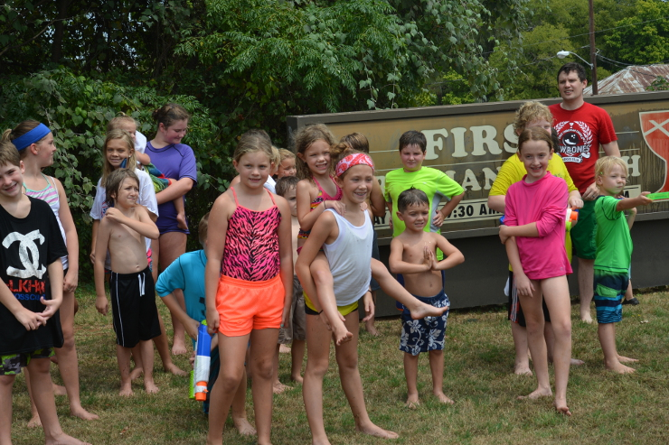 Youth Water Activity 2015