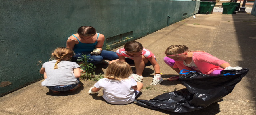 Youth Cleanup Project--Service to our Community