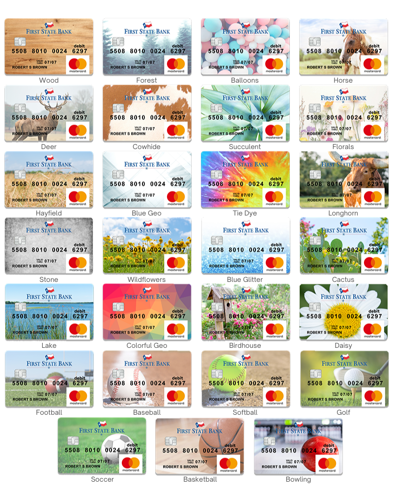 Custom Debit Card Options2