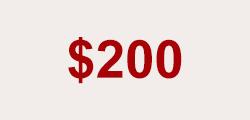 $200.00