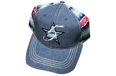 6de0938ba0e 5 Star Brand Blue Serape Denim Cap