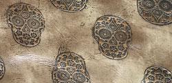 Cave Rock Bronze Skulls
