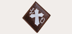 Solid Cross with Initials