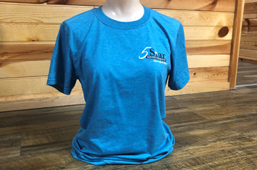 Galapagos Blue short sleeve shirt