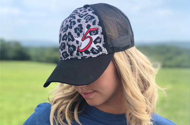 Downtown Ghost Leopard 5 Star Cap
