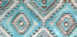 Light Turquoise Aztec