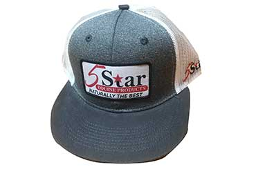 5 Star Logo Patch Heather Cap