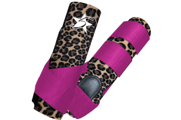 Limited Edition Cheetah 5 Star Patriot Sport Boots - Choose Strap Color!
