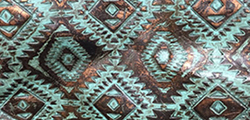 Turquoise Copper Aztec