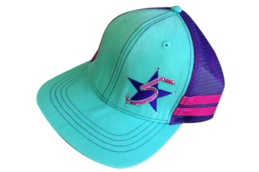 Easy Feeling Turquoise 5 Star Hat
