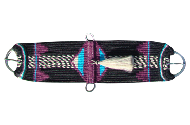 The Vaquero Cincha - Tied - Style C