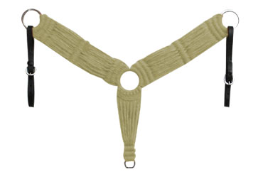 Breast Collar - Woven - Natural