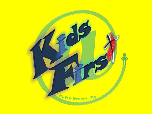 Children's Ministry Kids At First Logo