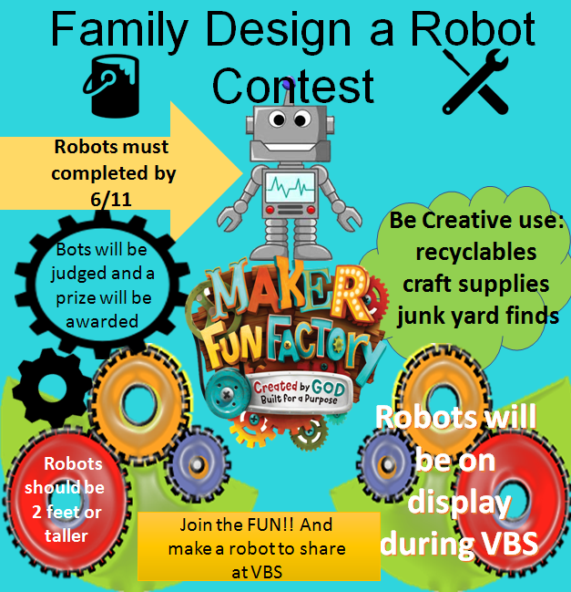 Vbs  Family Design A Robot Contest 2017