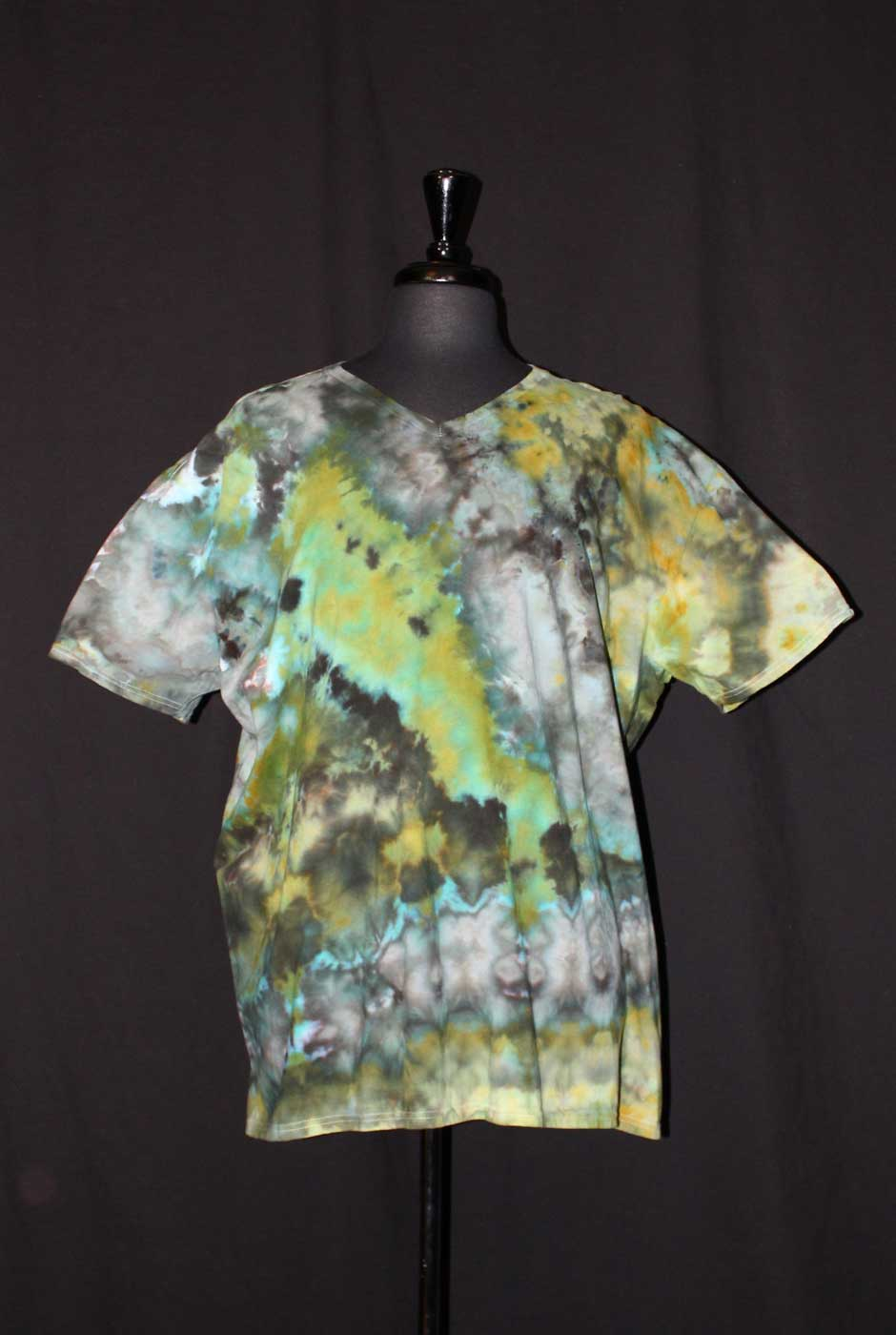 Prods Abstract In Greens T Shirt Fp