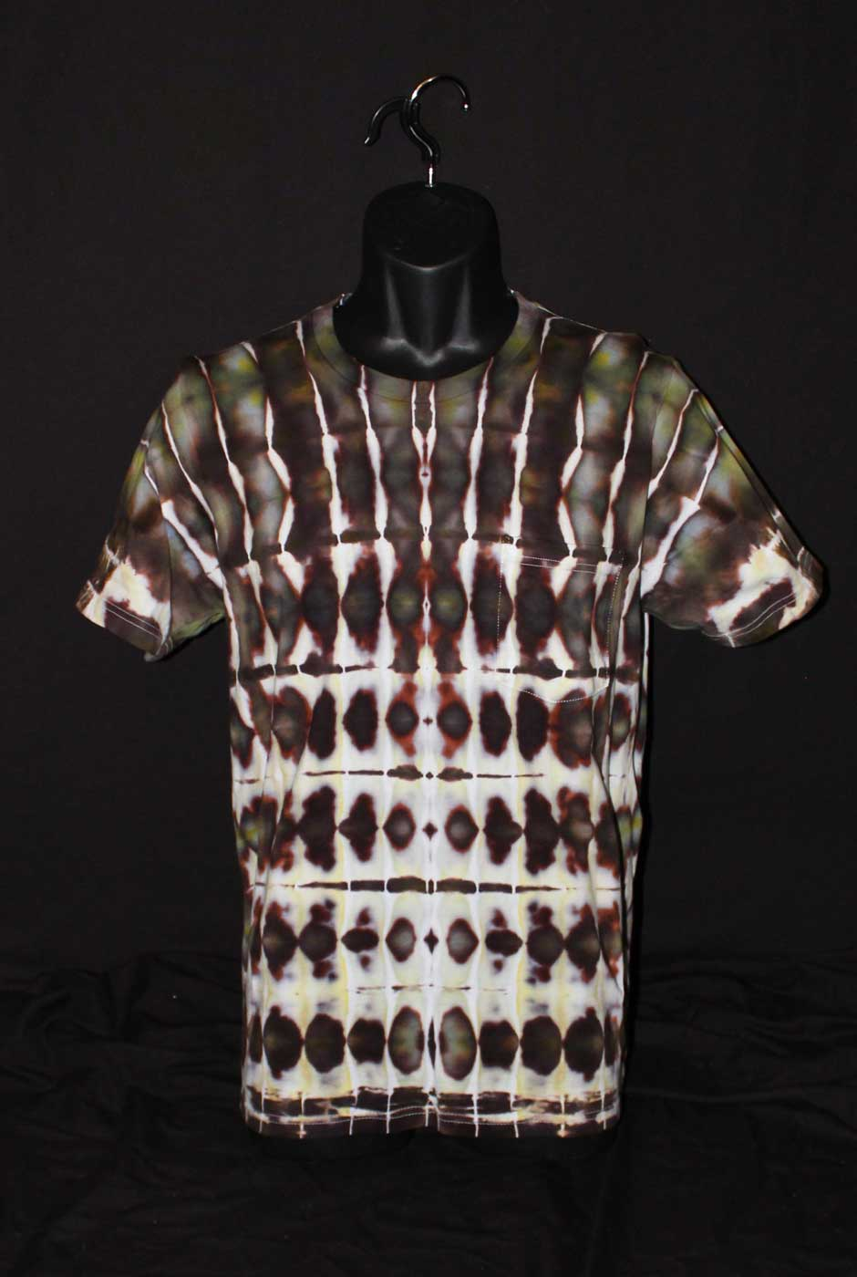 Prods Tie Dye Camo Organic T Shirt Fp