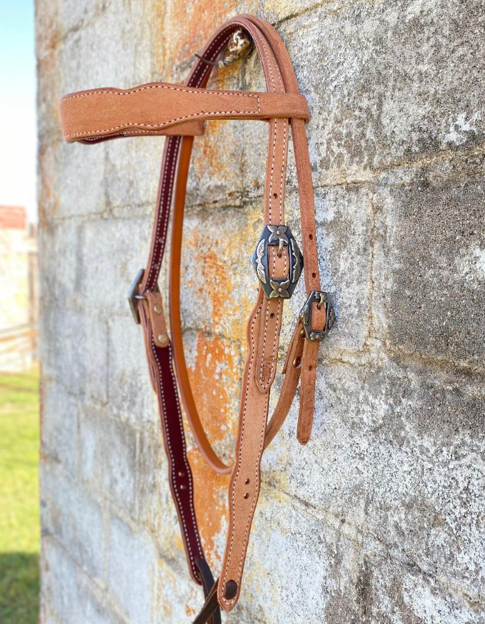 Headstall Rough Out Browband