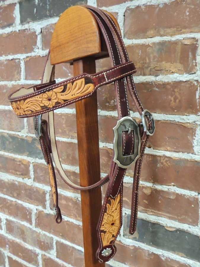Tooled Headstall