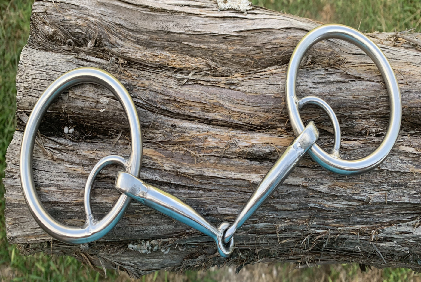O-Ring Locked Weighted Smooth Snaffle