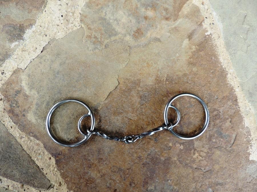 O-Ring Locked Slowtwist Snaffle