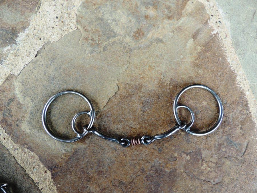O-Ring Locked Smooth Dog Bone