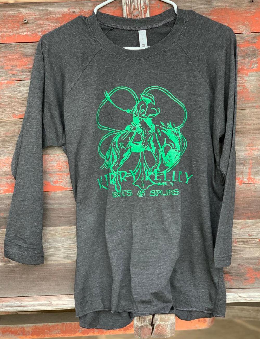 Shirt Baseball Tee KK Logo Black