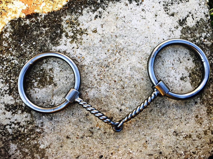 O-Ring Twisted Wire Snaffle
