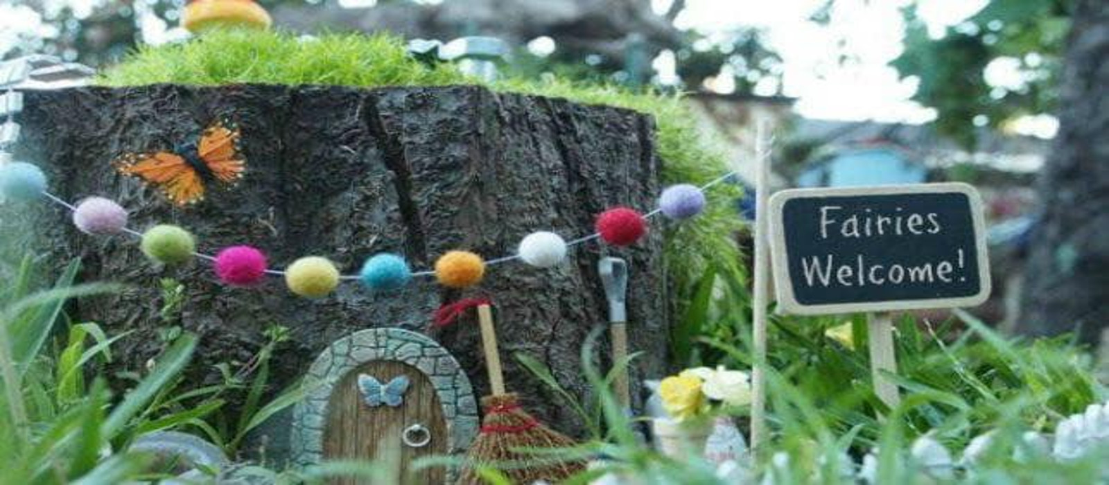 Fairy Garden Project in Palestine!