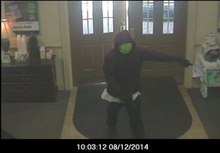 Crime Suspect - TPD - Austin Bank Robbery - Aug 12 - Photo 3
