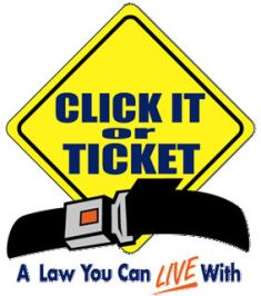 'Click it or Ticket' campaign begins today
