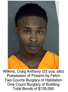 Crime Suspect - Craig Anthony Wilkins