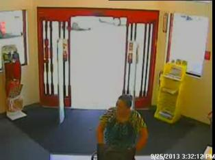 Crime Suspect - TPD - CVS Theft - Female - 11-7-13