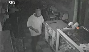 Crime Suspect - Jacksonville - Donut Palace - 7-21-13