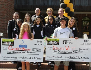 TJC Future Apache Scholarship Recipients named