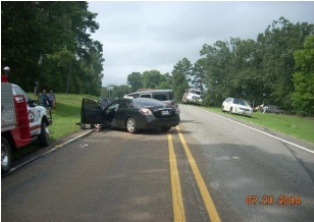 Sabine Co. Sheriff's Office Image - Accident - 8-3-14
