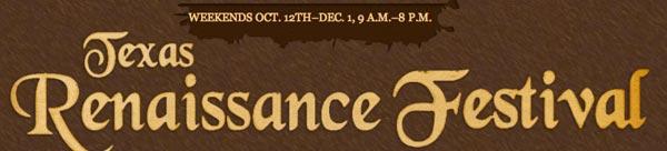 texas ren fest logo 2013
