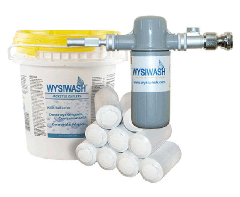 WYSIWASH Sanitizer & Caplet Kit