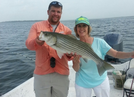 Ann's big lake livingston striper