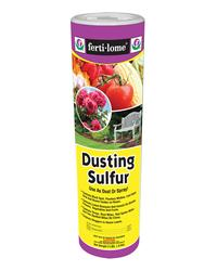 Fertilome: dusting sulfur
