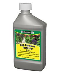 Fertilome: fish emulsion