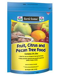 Fertilome: fruit citrus pecan tree food