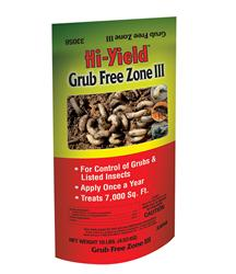 Hi Yield: grub free zone