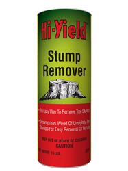 Hi Yield: stump remover