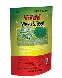 Hi Yield: weed feed