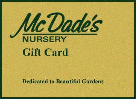 McDade's Gift Card
