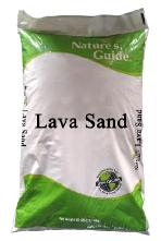 Nature's Guide: lava sand