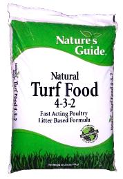 Nature's Guide: turf food